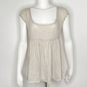 Abercrombie & Fitch Off White Blouse Large